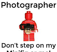 Lego Photographer by bricksandplates