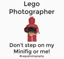 Lego Photographer Kids Clothes
