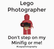 Lego Photographer Baby Tee