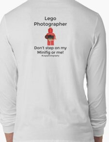Lego Photographer Long Sleeve T-Shirt