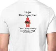 Lego Photographer Unisex T-Shirt