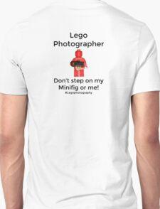 Lego Photographer Unisex T-Shirt