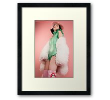 Space Cowgirl Framed Print