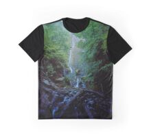 Falling Water Meditation Graphic T-Shirt