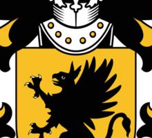 Morgan Coat of Arms I (Welsh) Sticker