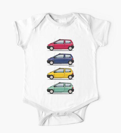 Renault Twingo 90s Colors Quartet One Piece - Short Sleeve