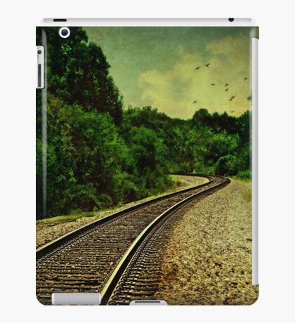 Comin' round the mountain iPad Case/Skin
