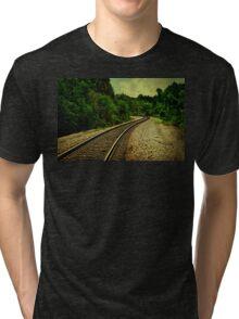 Comin' round the mountain Tri-blend T-Shirt