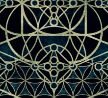 Sacred Geometry - Quantum conexion Sticker