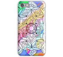 Psychedelic Flower Mandala iPhone Case/Skin