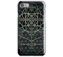 Sacred Geometry - Quantum conexion iPhone Case/Skin