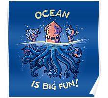 Joyful Kraken Poster