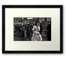 A Glimpse of Intimacy Framed Print