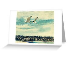 The Love of Flying Greeting Card