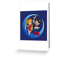 Mini-Moons Greeting Card