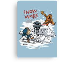 Snow Wars Canvas Print