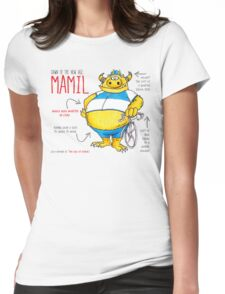 Descriptive Mamil! Womens Fitted T-Shirt