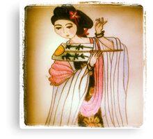Oriental Beauty  Canvas Print