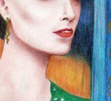 Art Nouveau Irene Adler Sticker