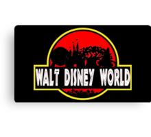 Walt Disney World (Jurassic Park) Canvas Print