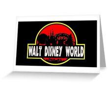Walt Disney World (Jurassic Park) Greeting Card