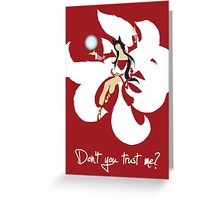 Ahri - the Nine Tailed Fox Greeting Card