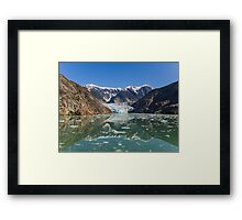 Sawyer Glacier Alaska Panoramic Framed Print
