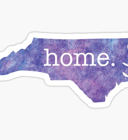 North Carolina Home. Sticker