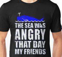 THE SEA WAS ANGRY THAT DAY MY FRIENDS SEINFELD Unisex T-Shirt