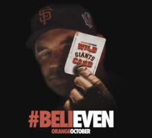 Giants Wild Card: #BeliEVEN One Piece - Short Sleeve