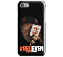 Giants Wild Card: #BeliEVEN iPhone Case/Skin