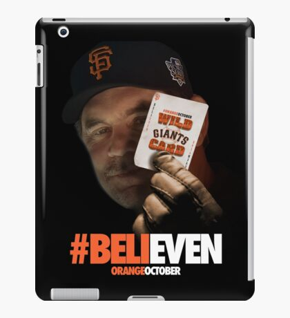 Giants Wild Card: #BeliEVEN iPad Case/Skin