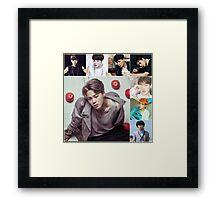 Jimin Evolution Framed Print