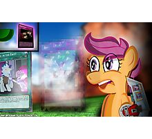 The Dueling Chicken - My Little Pony Photographic Print
