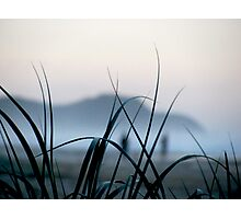 evening beach Photographic Print