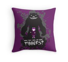 Annie, the Dark Child Throw Pillow