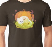 Ghost Kitty and Treats Unisex T-Shirt