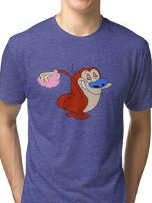 Stimpy  makeoff! Tri-blend T-Shirt