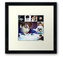 Jungkook Evolution Framed Print