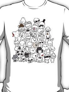 BattleBlock Theater Circle Heads T-Shirt