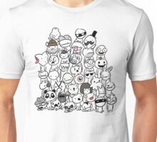 BattleBlock Theater Circle Heads Unisex T-Shirt