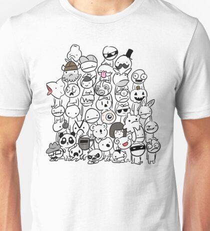 BattleBlock Theater Circle Heads Unisex T-Shirt