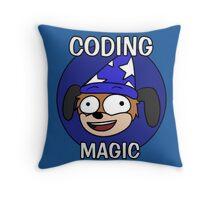 Coding Magic! Throw Pillow