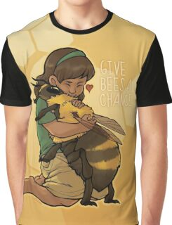 Give Bees A Chance Graphic T-Shirt