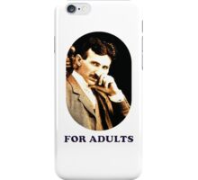 Tesla For Adults iPhone Case/Skin
