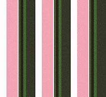 Pink Roses in Anzures 3 Stripes 5V by Christopher Johnson