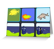 Back To The Water - Tardis Edition Greeting Card