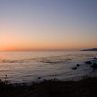 Big Sur Sunset by Miriam Gordon