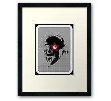 Einstein Rocks! Framed Print