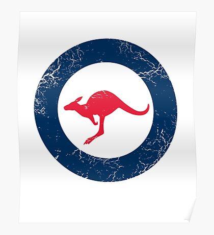 Military Roundels - RAAF - Royal Australian Air Force Poster